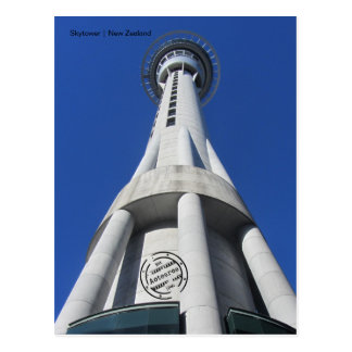 Skytower (New Zealand) postcard