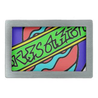 Skyts.logo.color Rectangular Belt Buckle