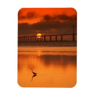Skyway Bridge Rectangular Photo Magnet