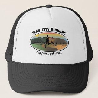 Slab City Running Logo Hat
