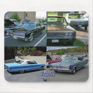 Slab Side Chryslers Mouse Pad