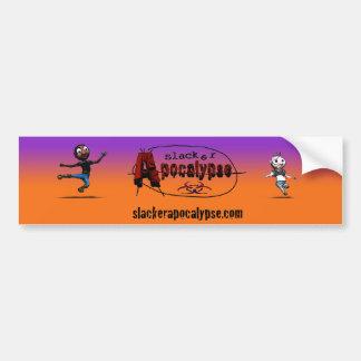 Slacker Apocalypse Bumper Sticker