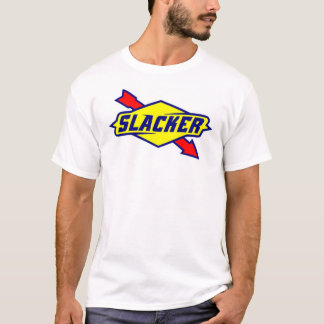 Slacker Sign Logo Parody T-shirt