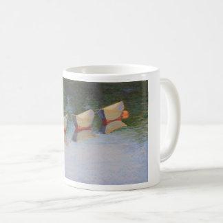 Slacktide dories on a coffee mug
