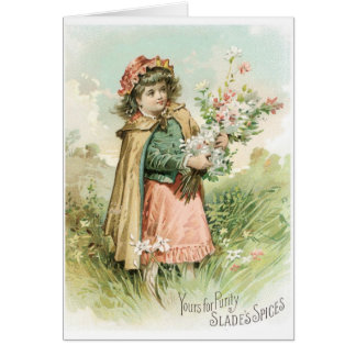 Slades Spices Greeting Card