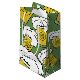 Sláinte! (Health) Happy St. Patrick's Day Small Gift Bag