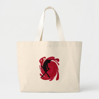 Slalom Healing Large Tote Bag