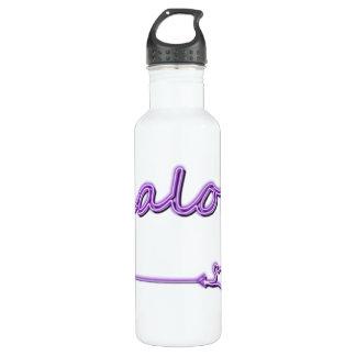 Slalom Water Ski Neon 710 Ml Water Bottle
