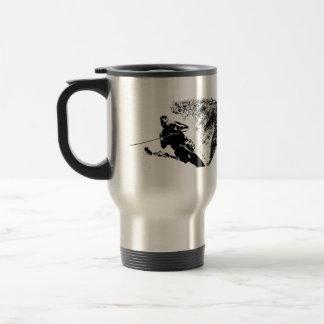 Slalom Water Skier Travel/Commuter Mug