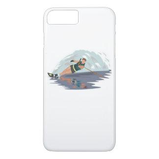 Slalom Waterski iPhone Case