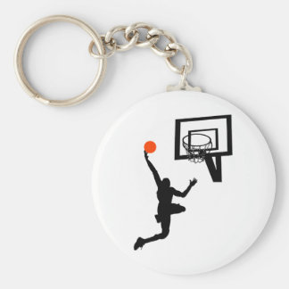 Slam Dunk Basic Round Button Key Ring