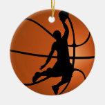 Slam Dunk Basketball Player Round Ceramic Decoration