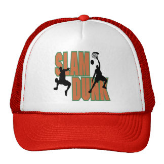 Slam Dunk Basketball T-shirts and Gifts Trucker Hats