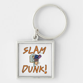 Slam Dunk Basketball Tshirts and Gifts Key Chain