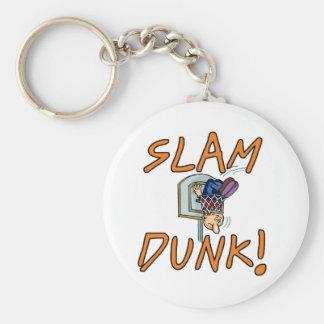 Slam Dunk Basketball Tshirts and Gifts Keychain