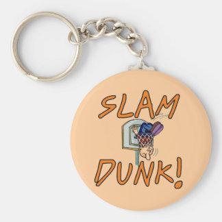 Slam Dunk Basketball Tshirts and Gifts Key Chains