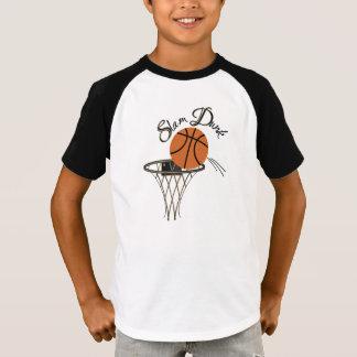 Slam Dunk Basketball  Vneck T-Shirt