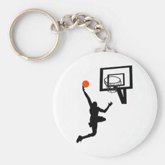Slam Dunk Basic Round Button Key Ring