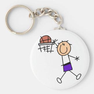 Slam Dunk Purple Basketball Tshirts and Gifts Keychains