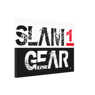 SLAM ONE GEAR CANVAS PRINT