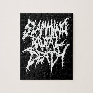 Slamming Brutal Death Metal Jigsaw Puzzle