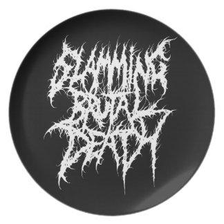 Slamming Brutal Death Metal Plate