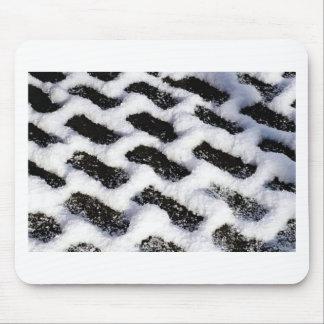 slanted bricks mouse pad