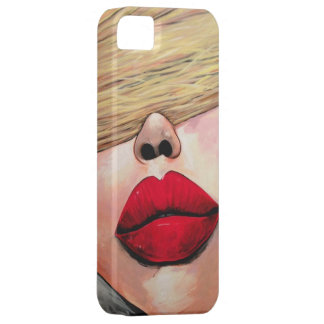 Slap on some Red Lipstick iPhone 5/5S Covers
