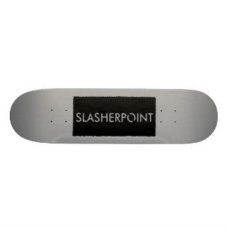 SLASHERPOINT™ Brand Grey Skateboard