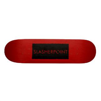 SLASHERPOINT™ Red and Black Skateboard