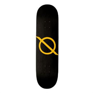 """Slasherpoint Zero™ Black """"Zero Slash"""" Skateboard"""