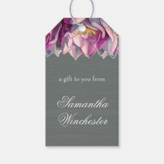 Slate and Floral Gift Tags
