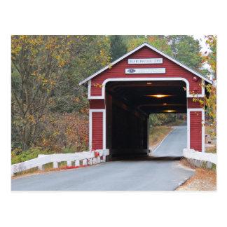 Slate Covered Bridge Postcard