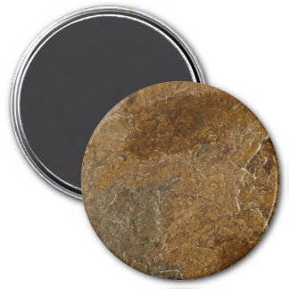 Slate Stone Background - Customized Template Blank 7.5 Cm Round Magnet