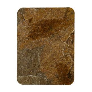 Slate Stone Background - Customized Template Blank Rectangular Photo Magnet