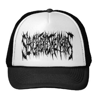 Slaughtered Remains - Black Logo Trucker Hat