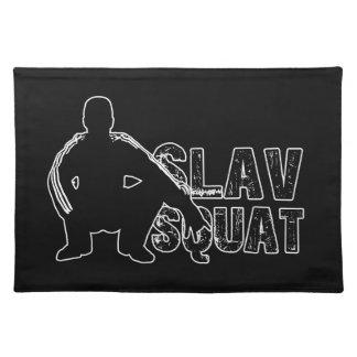 Slav Squat Placemat