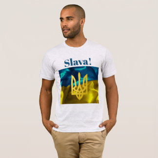 Slava! Ukraine Flag and Tryzub Sweat Shirt