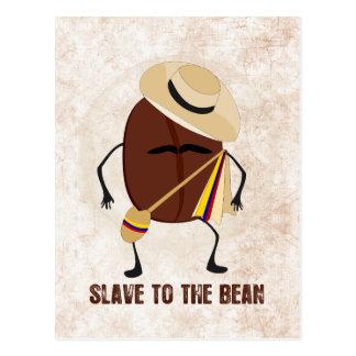 Slave To The Bean Postcard