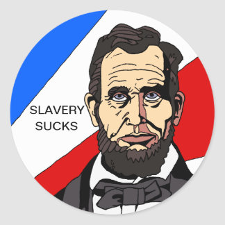 Slavery Sucks Sticker