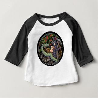 SLAY YOUR DRAGONS, Medieval art,Jordan Peterson Baby T-Shirt