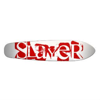 Slayer Fight and Athletics Longboard Deck 21.6 Cm Old School Skateboard Deck