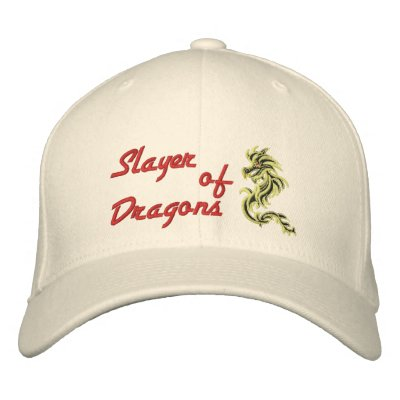 Slayer of Dragons Embroidered Baseball Cap