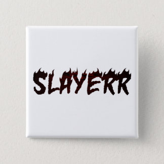 SLAYERR SATAN 15 CM SQUARE BADGE