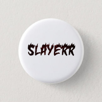 SLAYERR SATAN 3 CM ROUND BADGE