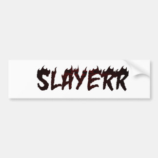 SLAYERR SATAN BUMPER STICKER