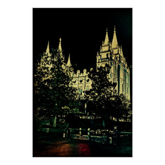 SLC Temple Posters