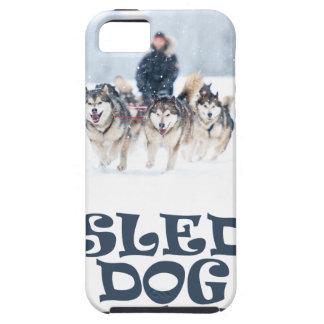 Sled Dog Day - Appreciation Day Tough iPhone 5 Case