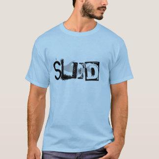 """Sled"" Light Blue Upper Peninsula tshirt"