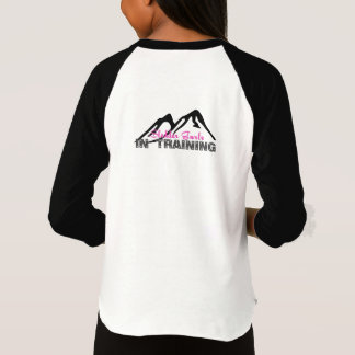 Sledder Gurlz in Training baseball shirt for girls